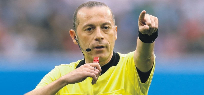 TURKISH REFEREE ÇAKIR TO OFFICIATE SEMIFINAL BETWEEN CROATIA AND ENGLAND