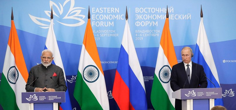 RUSSIA, INDIA VOW TO TAKE BILATERAL TIES TO NEW LEVEL