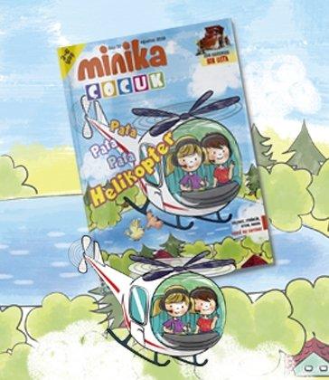 01.08.2019 Minika Çocuk Dergi - Sayı: 32