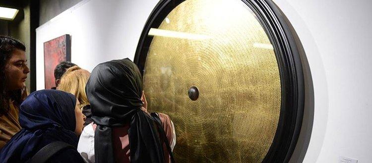 Kaligrafi sergisi 'Hakikat' sanatseverlerle buluştu