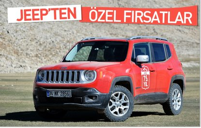 JEEP'TEN ÖZEL FIRSATLAR