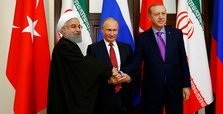 Turkey, Russia, Iran back Syria's territorial integrity