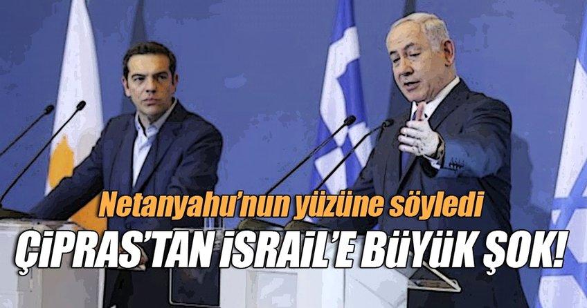 Çipras'tan İsrail'e büyük şok!