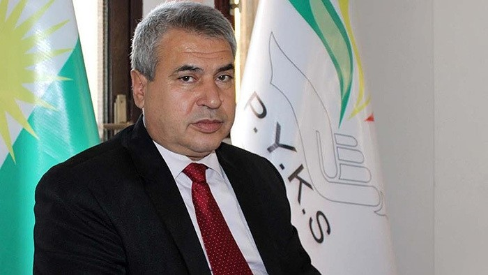 Syria's Kurdish National Council head Ibrahim Bu0131ro (AA Photo)
