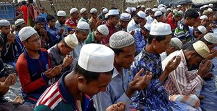 Eid reminds Rohingya refugees of happier times at home