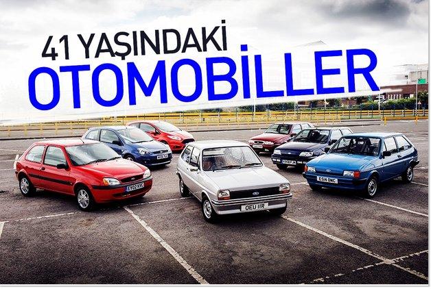 YILDÖNÜMÜ - 41  yaşındaki otomobiller