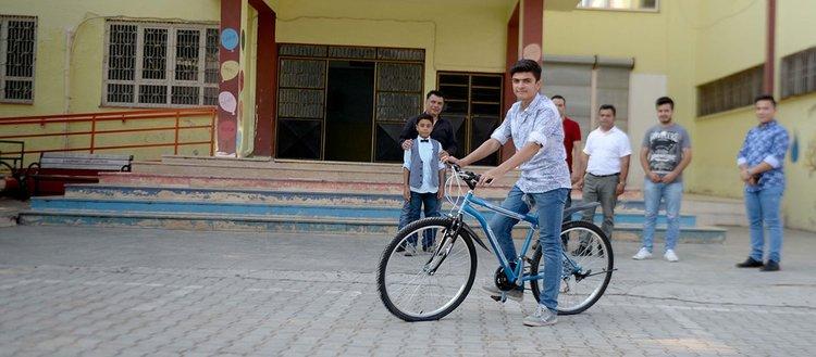 Suriyeli öğrenci LGS'den tam puan aldı