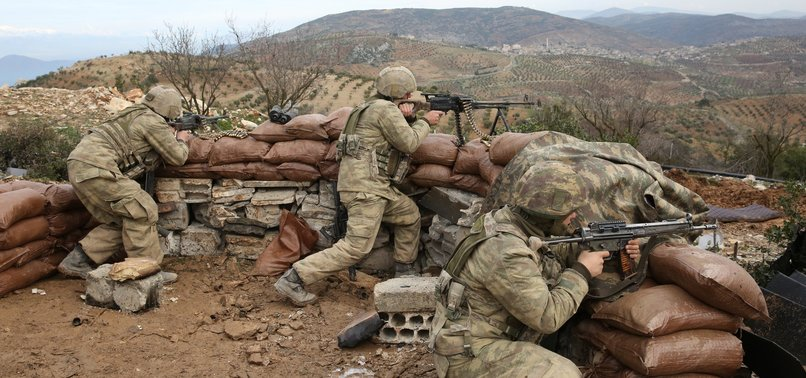 TURKISH SECURITY FORCES SEIZE LANDMINES IN AFRIN