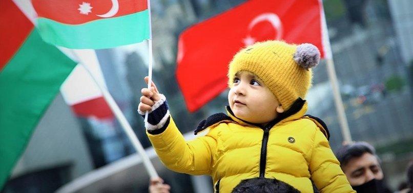 AZERBAIJANIS CELEBRATE LIBERATION OF OCCUPIED KALBAJAR