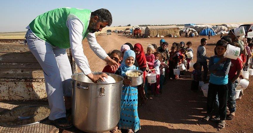 Suriyede 13 milyon insan yardıma muhtaç
