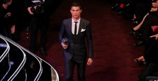 Cristiano Ronaldo voted FIFA player of the year