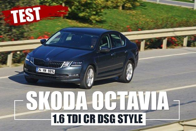 TEST · Skoda Octavia 1.6 TDI CR DSG Style
