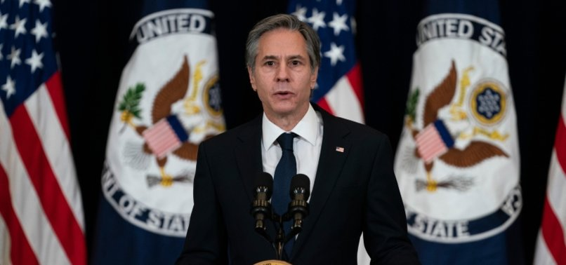 U.S. SECRETARY OF STATE BLINKEN VOWS FIRM ACTION AGAINST MYANMAR MILITARY