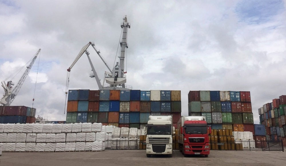 The mood around the wharfs and dockyards at Astrakhan, Russia's biggest Caspian Sea port, is sour. Cranes in several sections of the port were standing still because there was no cargo to move.