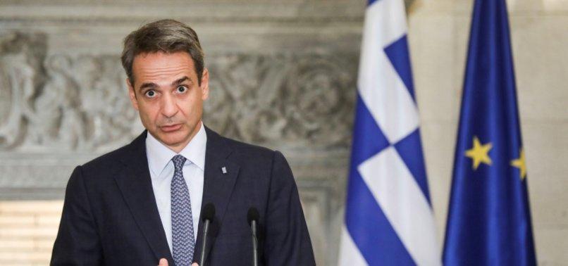 GREEK PREMIER URGES SELF PROTECTION AGAINST VIRUS