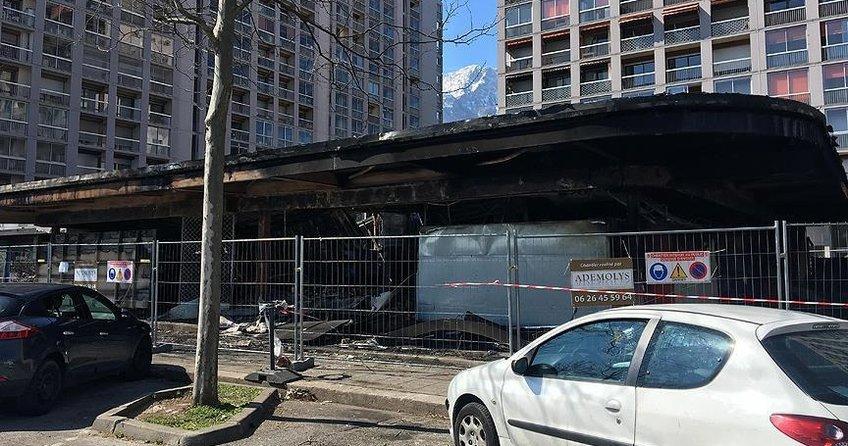 Fransada Türklere ait market kundaklandı: 1 ölü