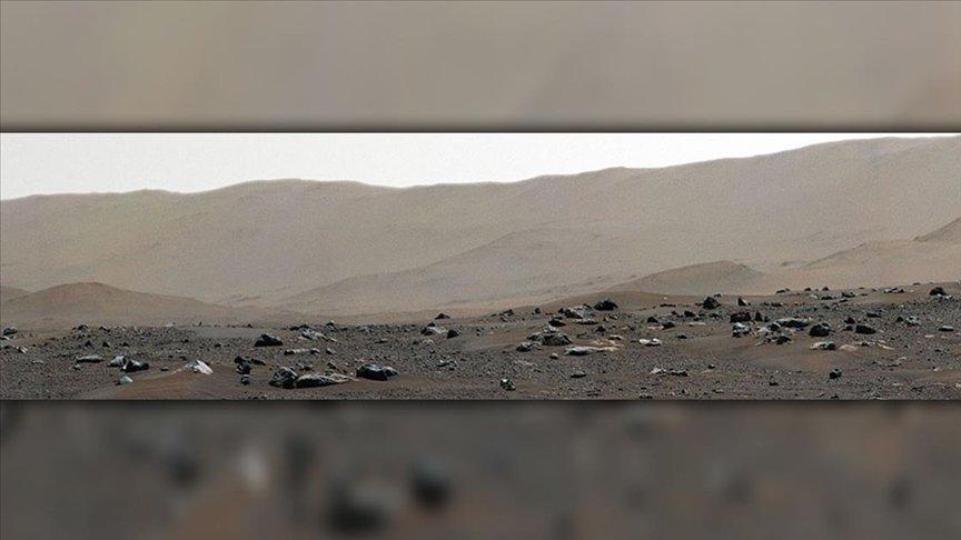 PERSEVERANCE KEŞİF ARACI MARS'TAKİ İNİŞ BÖLGESİNİN PANORAMASINI KAYDA ALDI