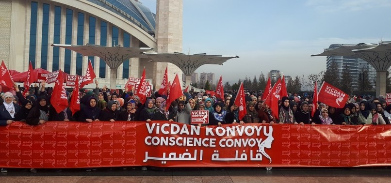 CONSCIENCE CONVOY RAISES AWARENESS ABOUT SYRIAN WOMEN IMPRISONED, TORTURED BY REGIME