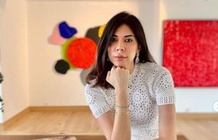 İlk kez 2008'de geldiği İstanbul'a aşık olan Dominikli ressam Laura Margarita, 6 yıl önce de İstanbul'a yerleşmişti.