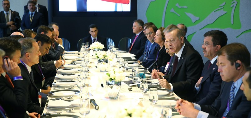 ERDOĞAN MEETS CEOS OF UK FIRMS, DISCUSSES INVESTMENT OPPORTUNITIES