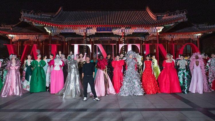 Valentino Haute Couture koleksiyonunu Pekin'de sundu