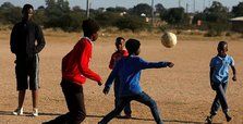 South African who lost his legs fulfills football dream
