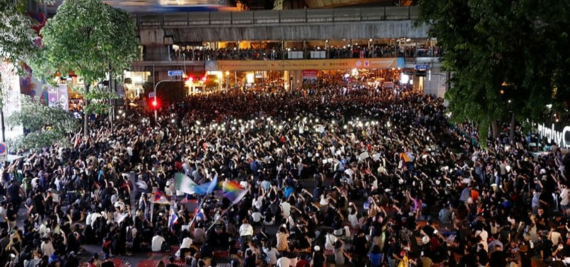 THAI PM SAYS ILLEGAL PROTESTS MUST BE CONTROLLED AS PARLIAMENT OPENS