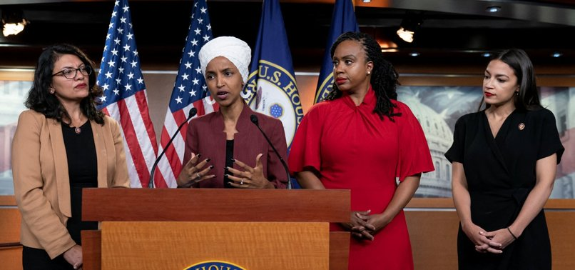 DEMOCRATIC CONGRESSWOMEN RESPOND TO TRUMP OVER TWEETS