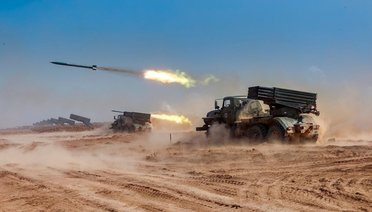 PKK'lı Teröristler Rus Askerlerle Yan Yana!