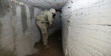 Turkish forces hunting terrorists in Syrian tunnels