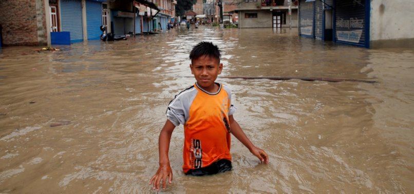 LANDSLIDES KILL 10 IN NEPAL AS HEAVY RAINS TAKE TOLL IN SOUTH ASIA
