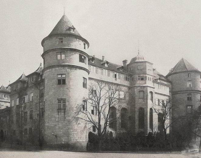 Eski tarz mimari binalar, Stuttgard