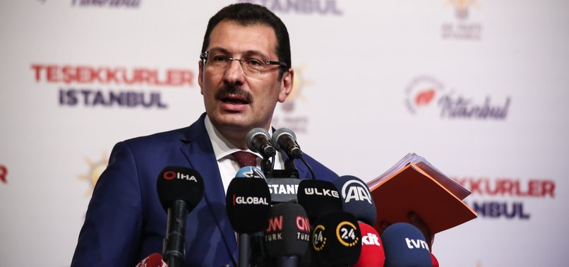 RECOUNT PROCESS BRINGS AK PARTY MORE VOTES IN ISTANBUL - RULING PARTYS DEPUTY CHAIRMAN