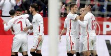 Sevilla beats Girona to move level with Barcelona, Atletico