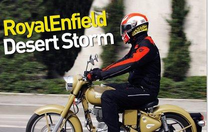 MOTOSİKLET · RoyalEnfield Desert Storm