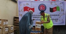 Turkish aid agency helps 600 families in Afghanistan