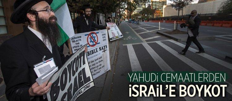 39 Yahudi cemaatinden 'İsrail'e boykot'a' destek