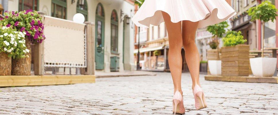 Kalın bacaklara estetik