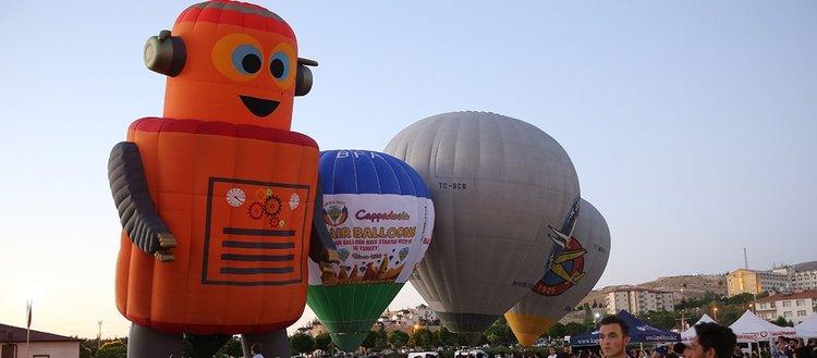 Uluslararası Kapadokya Sıcak Hava Balon Festivali başladı