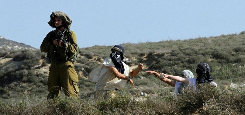 PALESTINIANS HURT IN WEST BANK SETTLER ASSAULTS