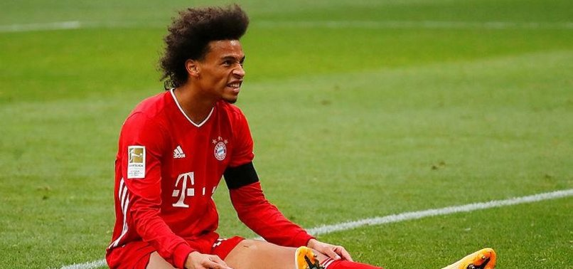 BAYERNS LEROY SANÉ OUT WITH NEW KNEE INJURY