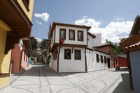 Safranbolu, a district of Karabük that has become famous for its preserved historical buildings from the Ottoman era that include frame houses, mosques, inns, Turkish bath houses, fountains and...