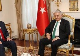 Başbakan Yıldırım, ABD Dışişleri Bakanı Rex Tillerson ile görüştü