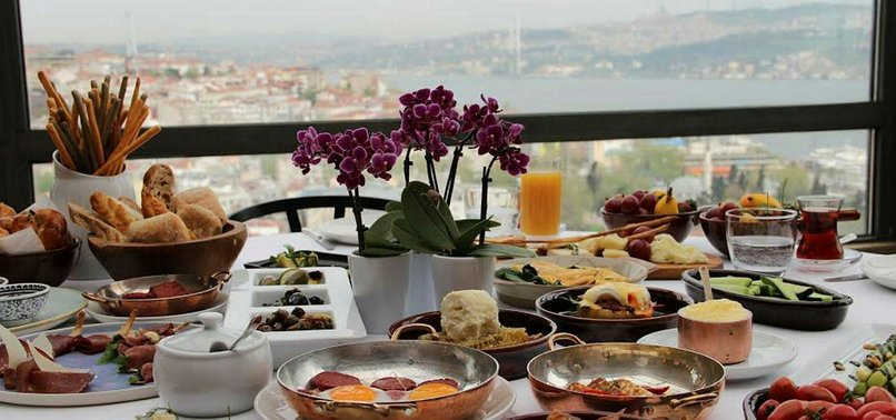 SOME OF SUGGESTIONS FOR TOP BRUNCH SPOTS ACROSS ISTANBUL