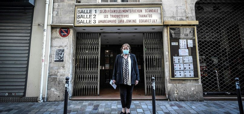 FRENCH CORONAVIRUS INFECTIONS SLOW AGAIN AS MORE SHOPS PREPARE TO OPEN