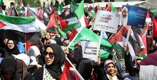 Turkish citizens protest Israeli restrictions on entry to al-Aqsa