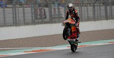 15-year-old Turkish rider wins Moto3 race in Spain