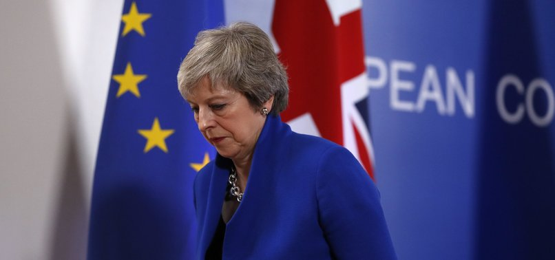 BRITISH PM MULLS FOURTH TRY ON BREXIT DEAL