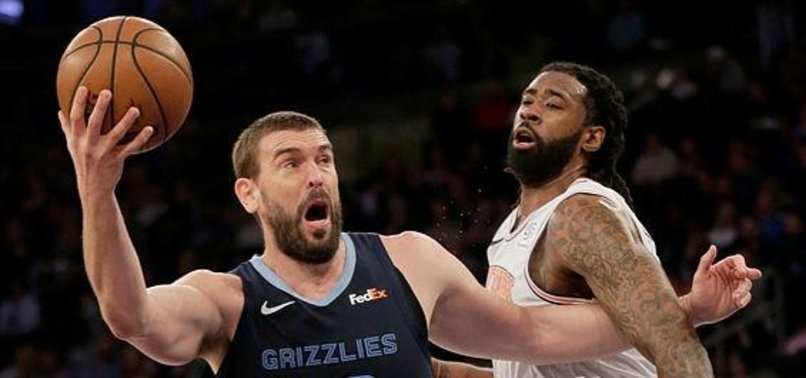 NBA GRIZZLIES TO RETIRE SPANIARD MARC GASOLS NO. 33