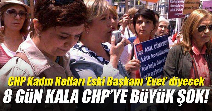 CHP Kadın Kolları eski Genel Başkanı: Yeni anayasaya 'evet' diyeceğiz
